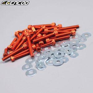 Visserie AM6 orange Gencod
