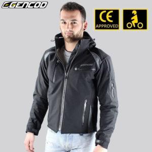 Veste moto Gencod homologuée