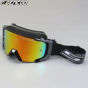 Masque moto Gencod noir gris
